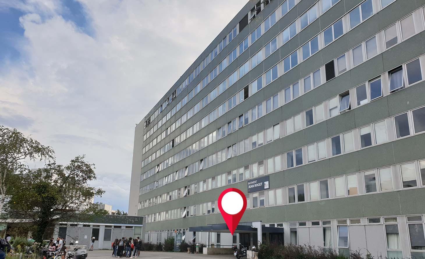 Accueil bâtiment Jean Roget